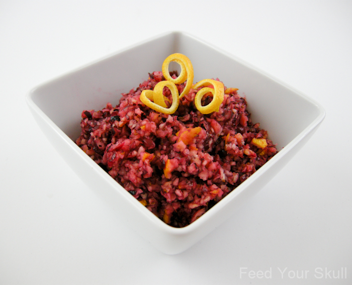 Mimi Kirk's Cranberry-Orange Relish