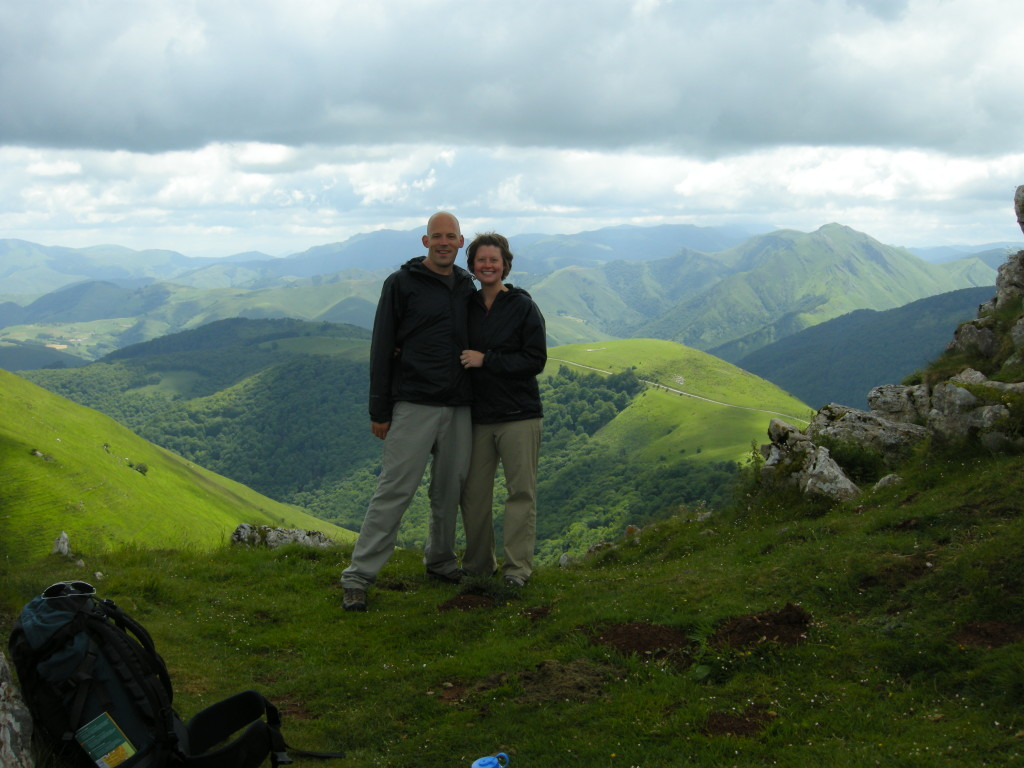 Day 1 of the Camino de Santiago in the French Pyrenees.