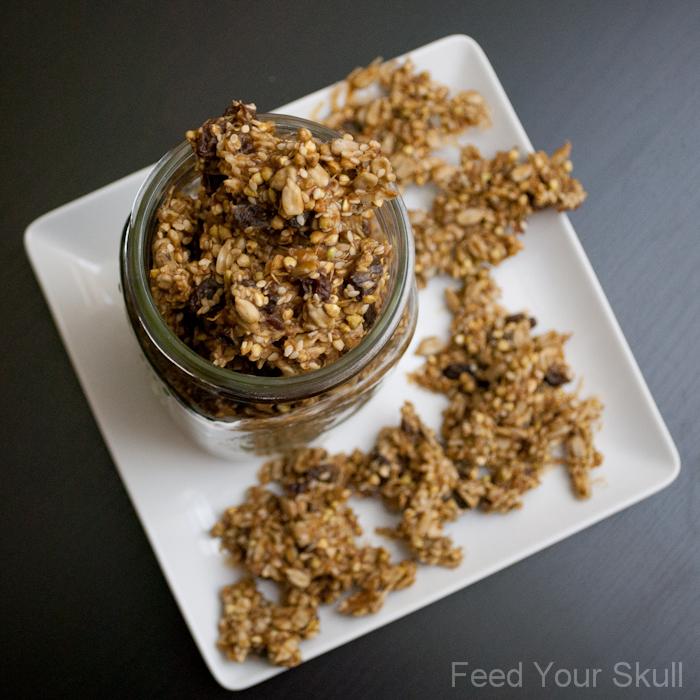 Peanut Butter Buckwheat Nuggets