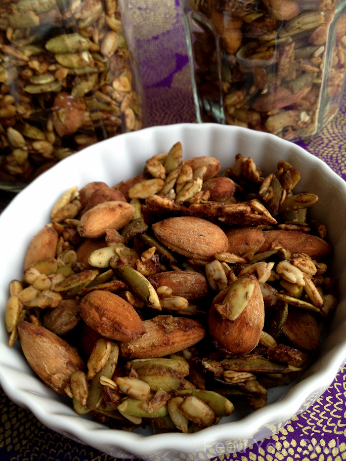 Savory Raw Vegan Trail Mix