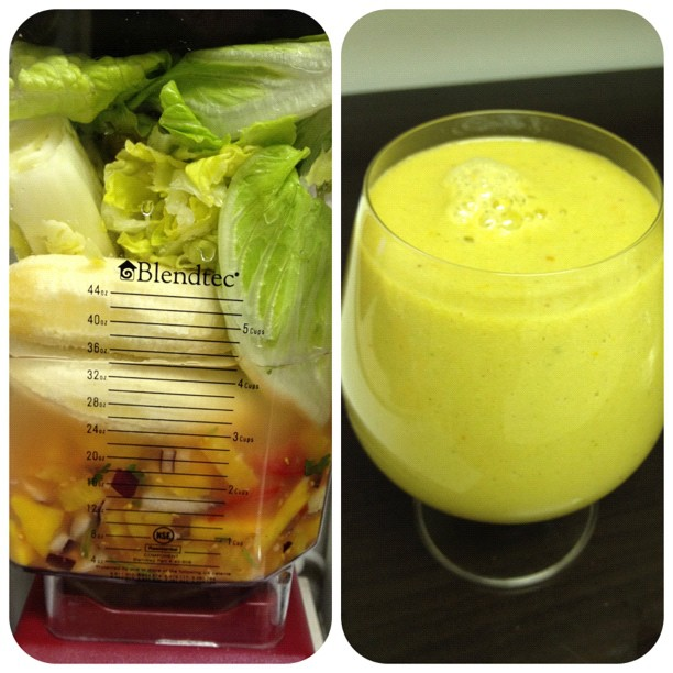 Pineapple Salsa Smoothie