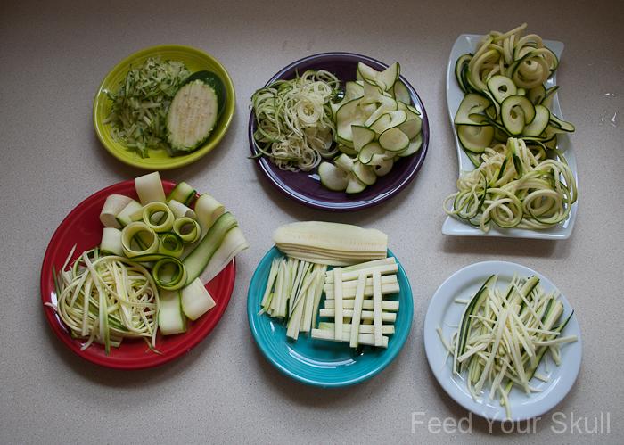 Slice Zucchini Food Processor