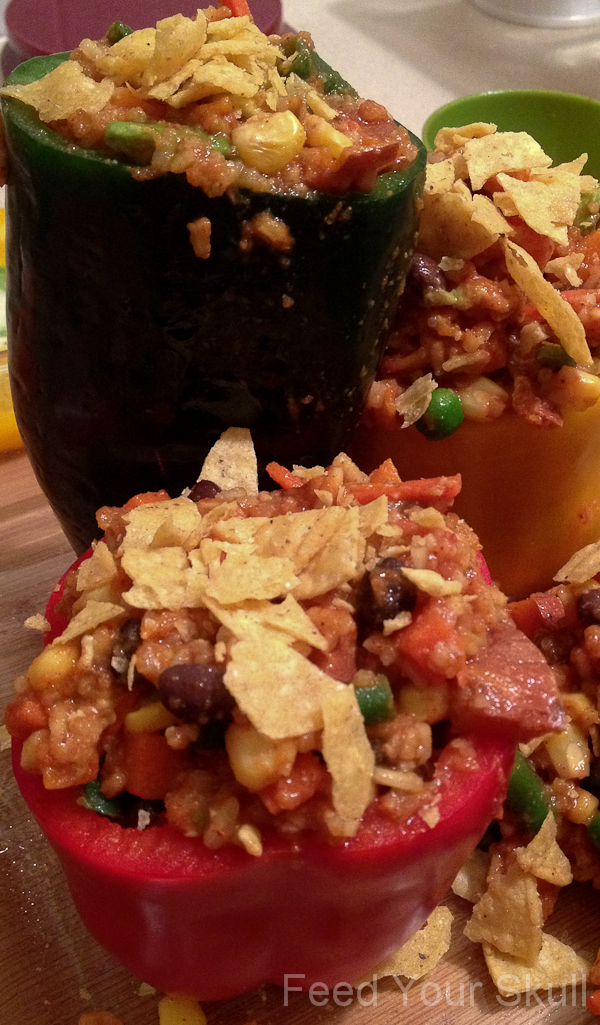 20130115_Enchilada Stuffed Peppers_005