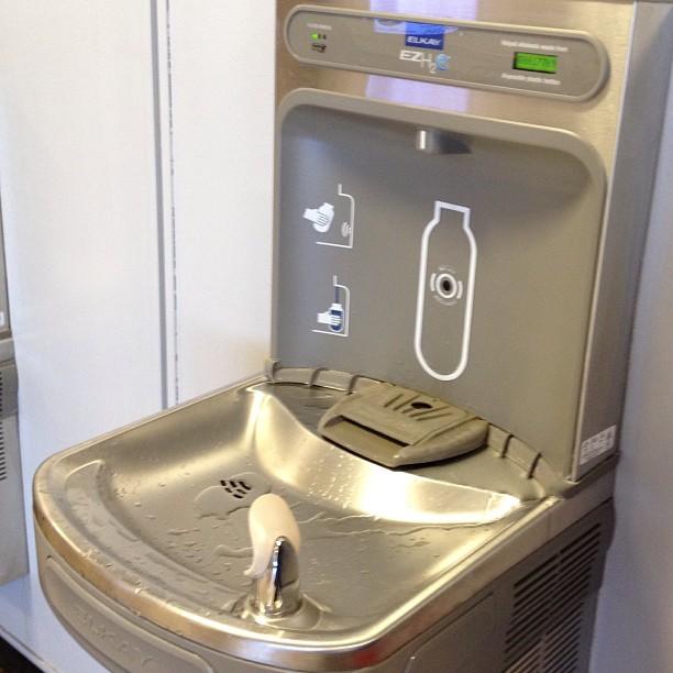 Brilliant Ideas Bottle Filling Drinking Fountain