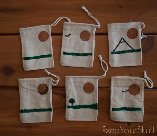 DIY: Lavender Sachet Bags