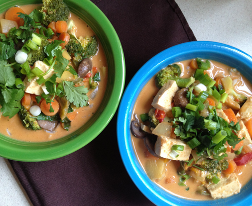 CCK's Thai Coconut and Peanut Butter Curry | Feed Your Skull