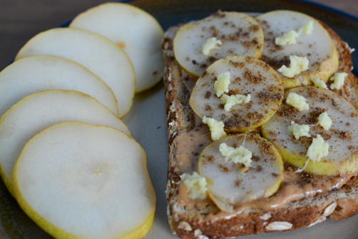 Masala Spiced Pear Toast | Feed Your Skull