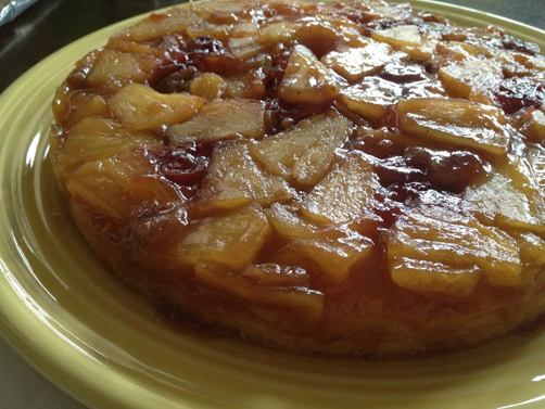 Fat Free Vegan's Upside-Down Cake | Feed Your Skull
