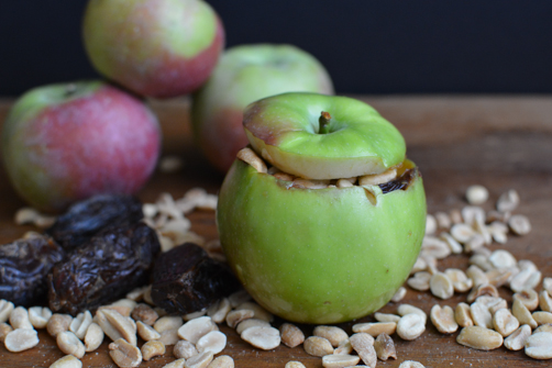 Outside In Baked Candied Apple Snack | Feed Your Skull