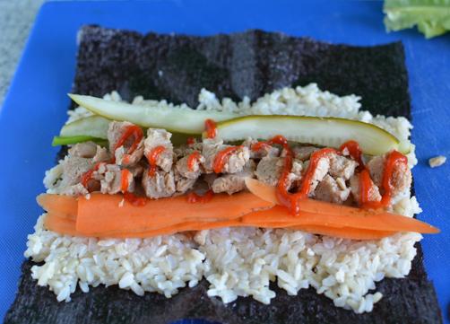 Vegan Tuna Salad Nori Rolls | Feed Your Skull