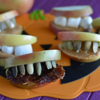 Feed Your Skull a Snack: Apple Monster Mouth