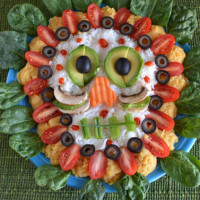 Vegetable Sugar Skull | Feed Your Skull