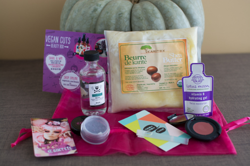 October Vegan Cuts Beauty and Snack Box Reviews | Feed Your Skul