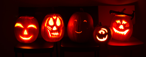 Feed Your Skull Pumpkin Carving