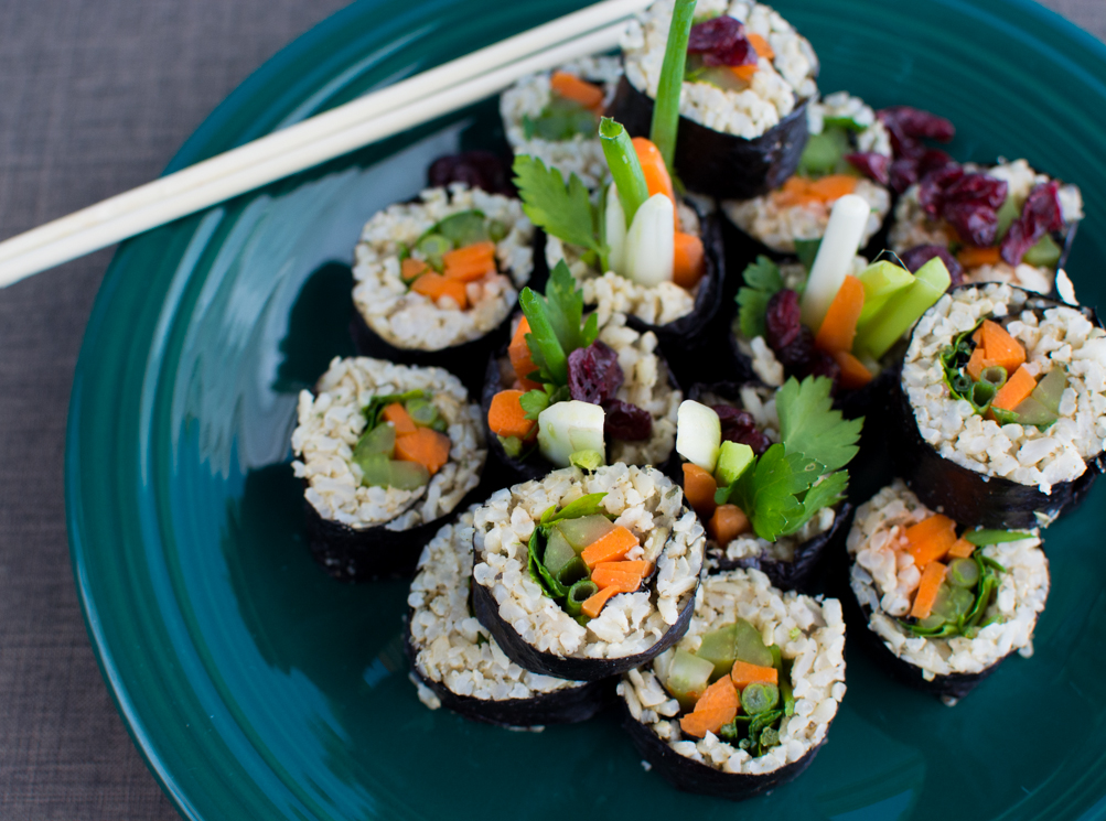 'Stuffing' Nori Rolls | Feed Your Skull
