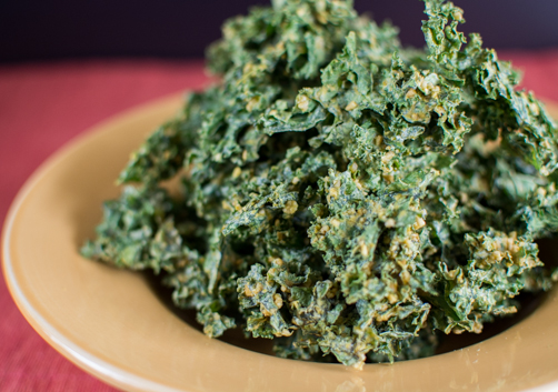 French Onion Kale Chips