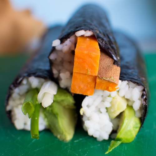 3 Vegan Maki Rolls | Feed Your Skull