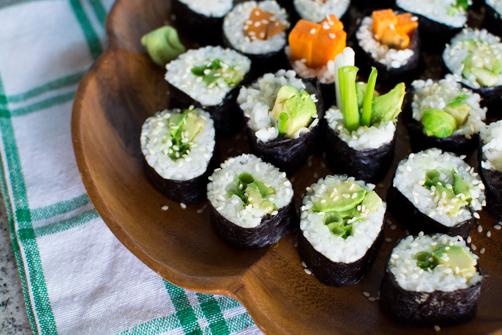 3 Vegan Maki Rolls | Feed Your Skull