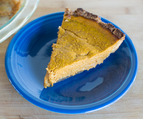 Go Make This: CCK's Healthy Pumpkin Pie