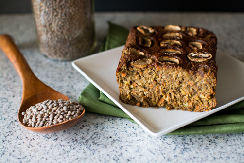 Lapsang Souchong BBQ Lentil Loaf | Feed Your Skull
