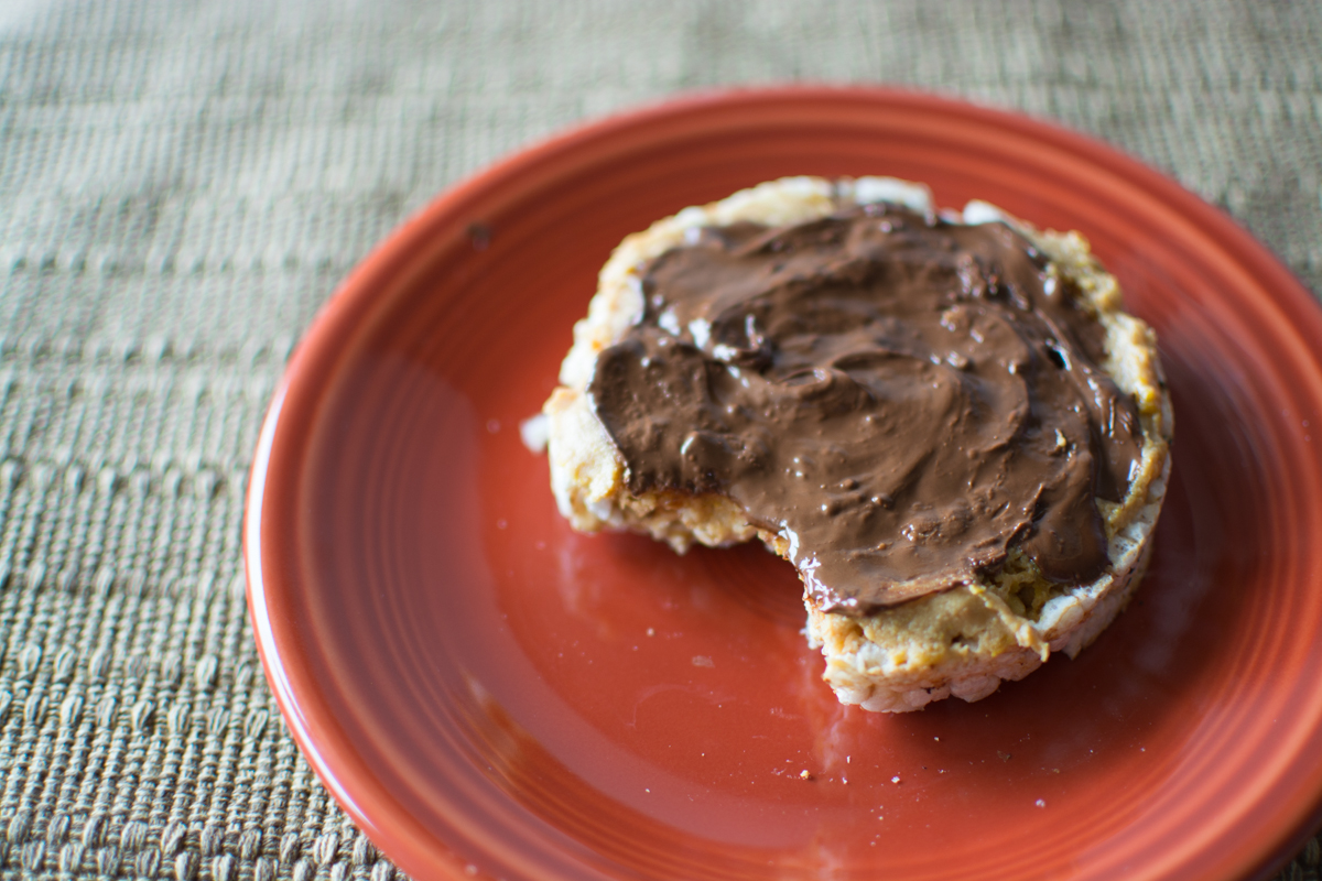 Feed Your Skull a Snack: Chocolate PB Rice Cake