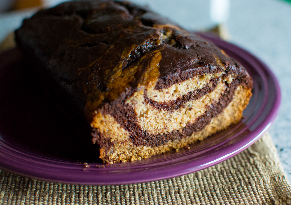 Go Make This: CCK's Chocolate Marble Swirl Banana Bread