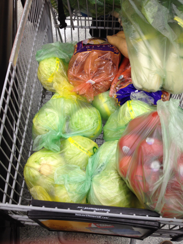 25 Liters of Sauerkraut and an Italian Deli Sauerkraut Recipe
