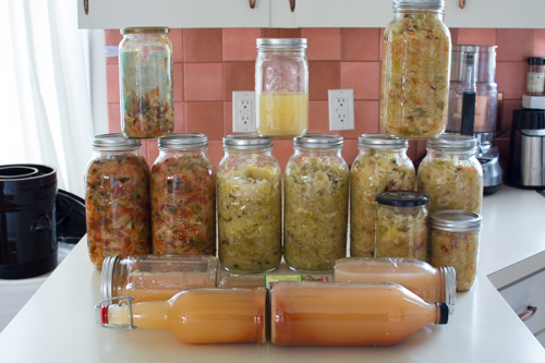 25 Liters of Sauerkraut and an Italian Deli Sauerkraut Recipe
