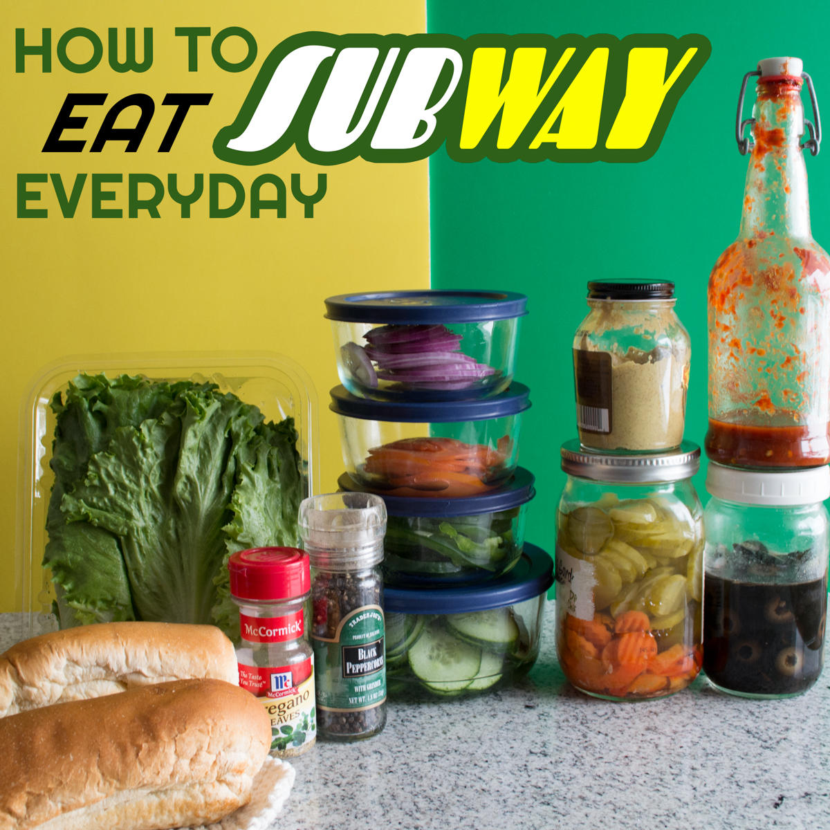 How to Eat Subway Everyday | Feed Your Skull