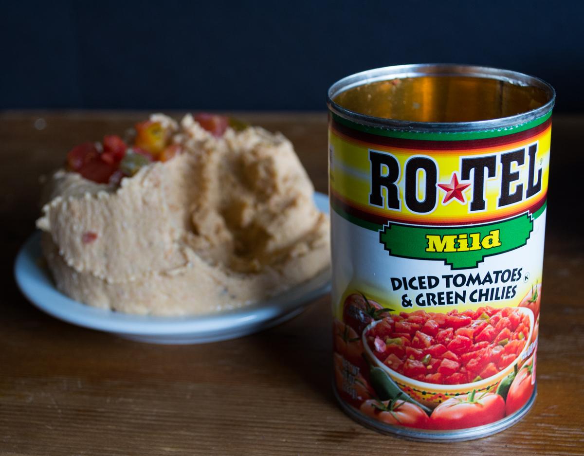 Ro-Tel Hummus | Feed Your Skull