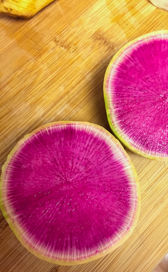 Watermelon Radish | Feed Your Skull