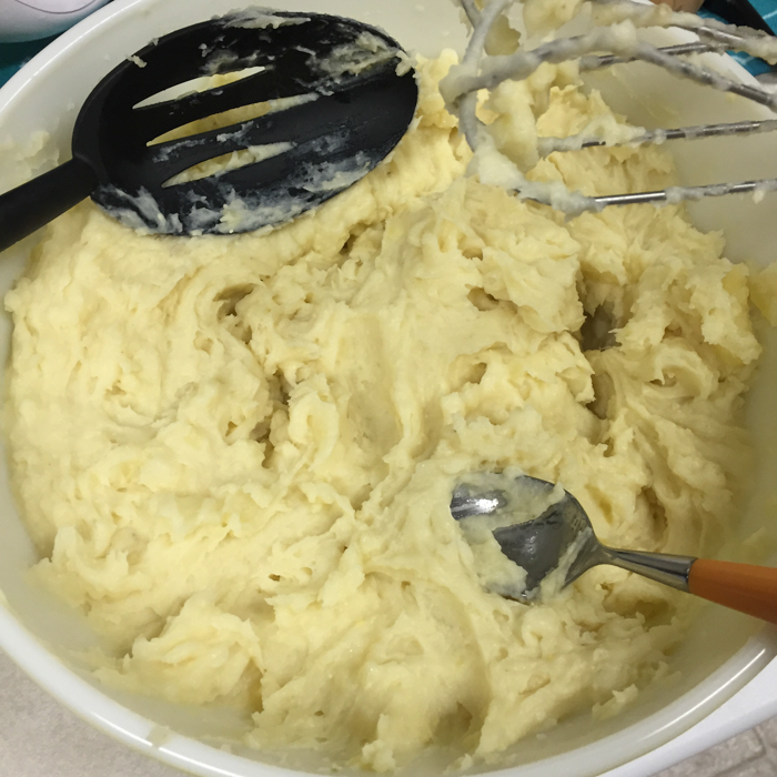 Instant Pot Vegan Mashed Potatoes