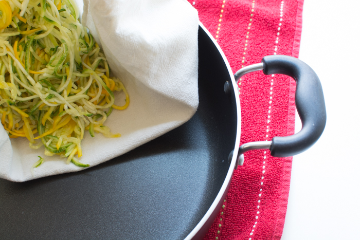 How to Dry Sauté Zucchini Noodles | Feed Your Skull