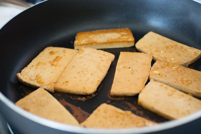 Marinated Tofu Steaks | Feed Your Skull
