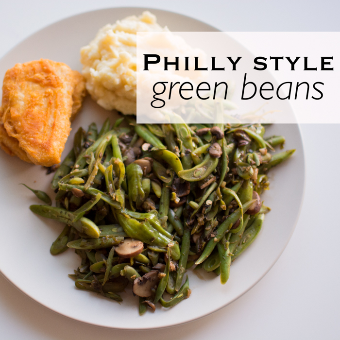 Philly Style Green Bean Sauté | Feed Your Skull