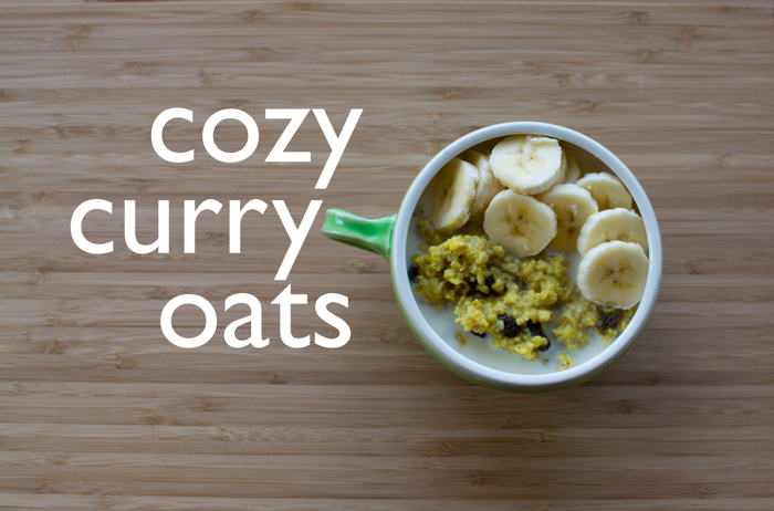 Cozy Curry Oats | Feed Your Skull