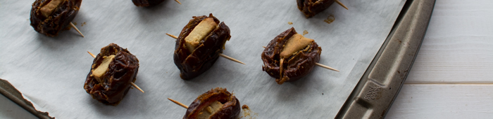 Smoked Cheese Stuffed Dates | Feed Your Skull