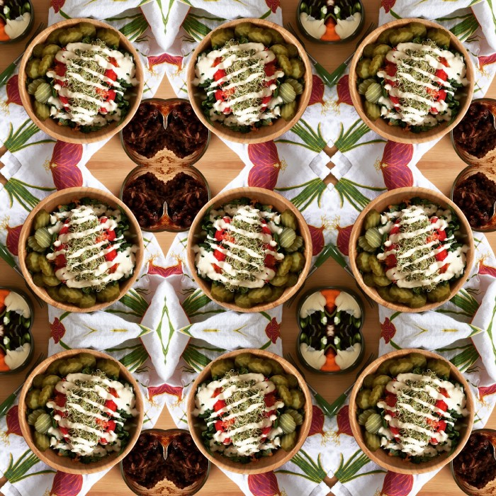 Salad Kaleidoscope