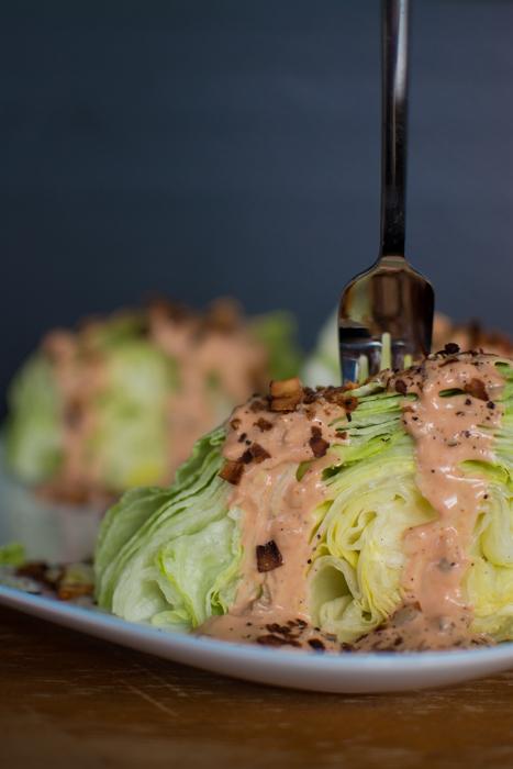 Vegan Wedge Salad | Feed Your Skull