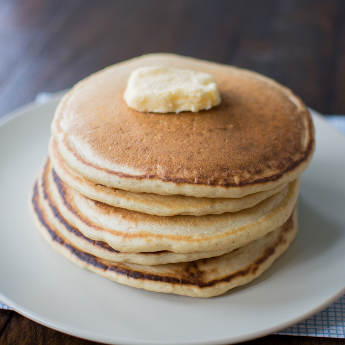 Vegan 'Buttermilk' Pancakes | Feed Your Skull