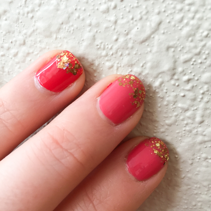 Mani Monday: Work it Out with Gold Tips | Feed Your Skull