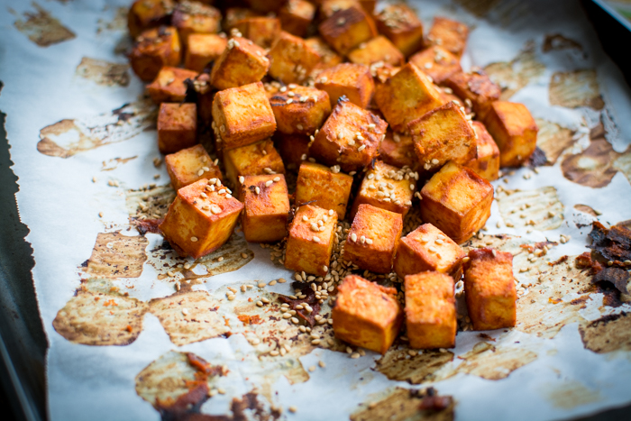 Hot for Tofu, Sriracha-Style | Feed Your Skull