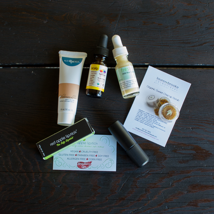 February 2015 Vegan Cuts Beauty Box | Feed Your Skull