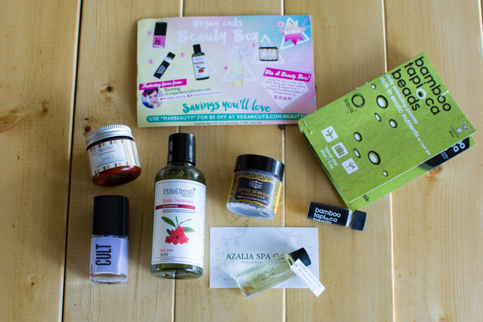 March 2015 Vegan Cuts Beauty Box | Feed Your Skull