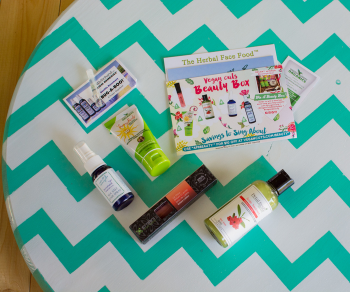 April 2015 Vegan Cuts Beauty Box | Feed Your Skull