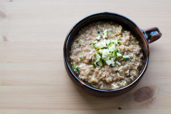 Zucchini 'Bread' Oatmeal | Feed Your Skull