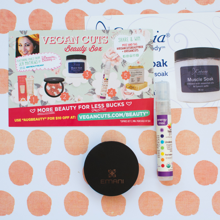 Oh So Pretty! August 2014 Vegan Cuts Beauty Box | Feed Your Skul