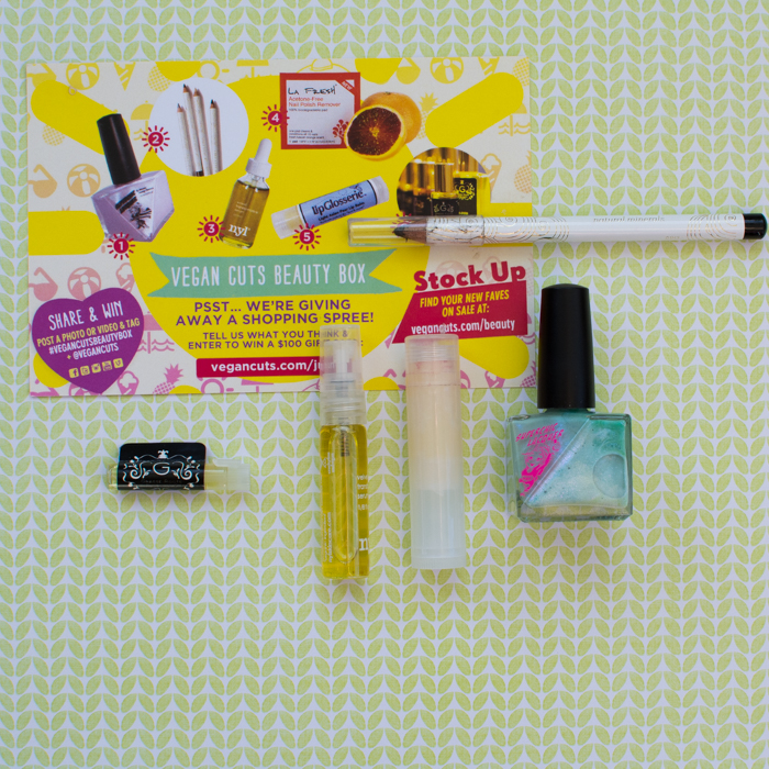 All We Want is the Summer Sun, June 2014 Vegan Cuts Beauty Box |