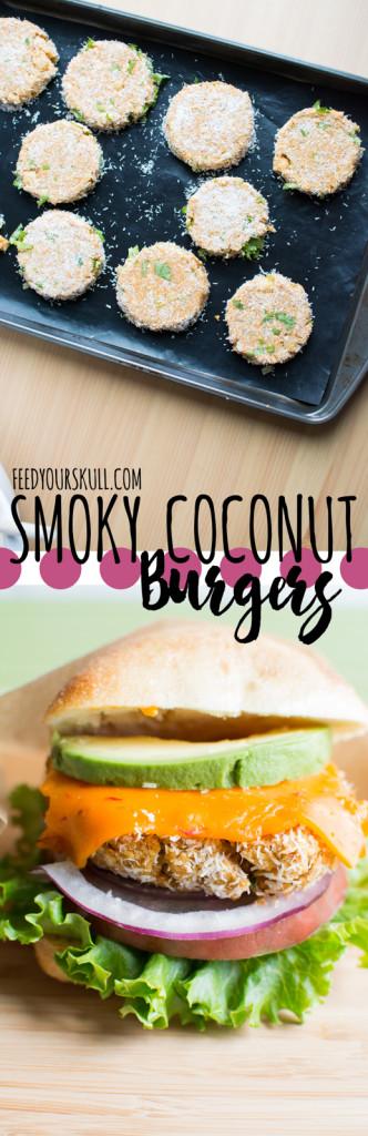 Smoky Coconut Bean Burgers | Feed Your Skull