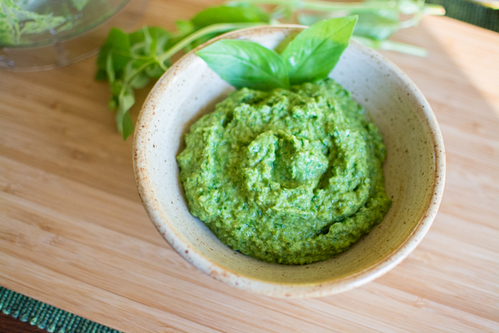Creamy Garlic Scape Pesto   Feed Your Skull